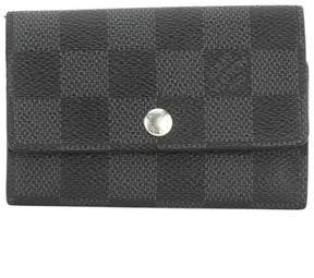Louis Vuitton Damier Graphite Multicles 6-key Case (Pre Owned) - GRAY - STYLE