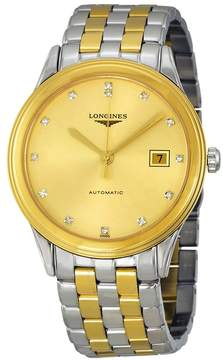 Longines Flagship Automatic Gold Dial Two-tone Men's Watch