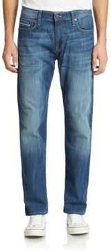 Mavi Jeans Myles Mid-Rise Straight-Leg Yaletown Jeans