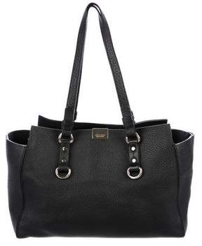 DSQUARED2 Grained Leather Tote