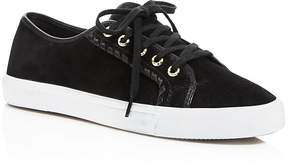 Jack Rogers Carter Suede Lace Up Sneakers