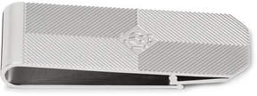Dunhill Embossed Silver-Tone Money Clip