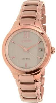 Citizen Women's Eco-Drive EO1163-57P Bronze Stainless-Steel Eco-Drive Watch