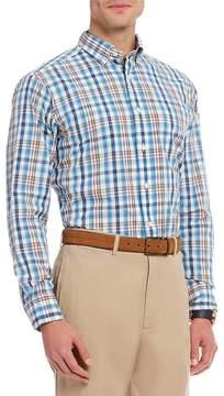 Daniel Cremieux Plaid Poplin Long-Sleeve Woven Shirt