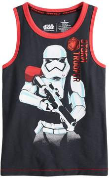 Star Wars A Collection For Kohls Boys 4-7x a Collection for Kohl's Storm Trooper Tank