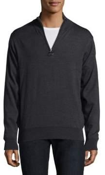 Barbour Half Zip Wool Jacket