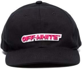 Off-White Rubber logo baseball cap