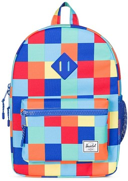 Herschel Unisex Check Print Heritage Youth Backpack
