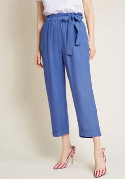 Moon River Hone Your Tone Cropped Pants
