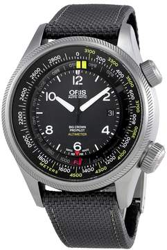 Oris Big Crown Altimeter Automatic Black Dial Men's Watch 733-7705-4164GYFS