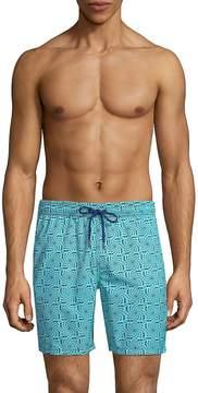 Mr.Swim Mr Swim Men's Printed Swim Shorts