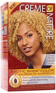 Creme of Nature Exotic Shine Ginger Blonde Permanent Hair Color