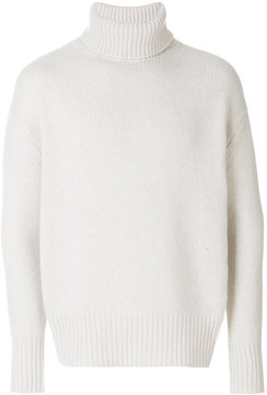 Roberto Collina turtleneck knitted sweater