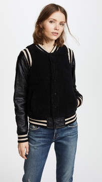 Mother Snap Letterman Jacket