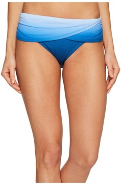 Bleu Rod Beattie Hola Ombre Sarong Hipster Bikini Bottom Women's Swimwear