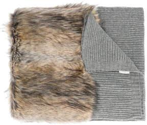 Stella McCartney faux fur scarf