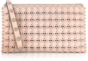 RED Valentino Flower Puzzle Leather Clutch