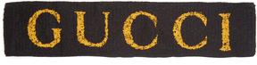 GUCCI Logo-print headband
