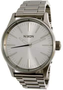 Nixon Men's Sentry A4501920 Silver Stainless-Steel Quartz Fashion Watch