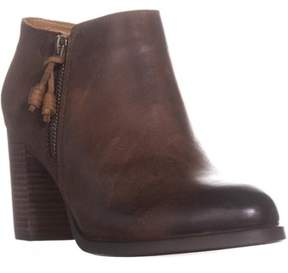 Sperry Dasher Block Heel Ankle Booties, Lille Brown.