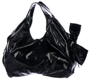 Valentino Nuage Patent Leather Tote