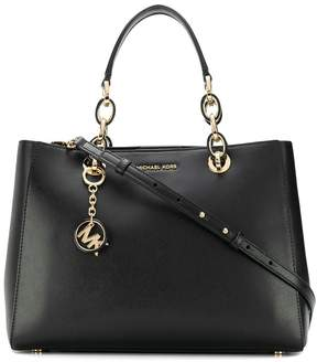 MICHAEL Michael Kors Cynthia Leather Shoulder Bag