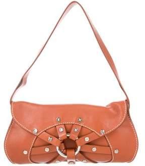 Celine Studded Leather Shoulder Bag