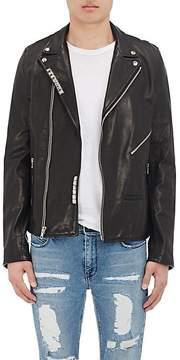 RtA Men's Leather Moto Jacket