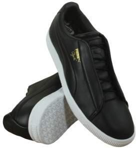 Puma 364572-01 Men Clyde Fashion Lthr  Black