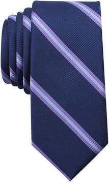 Bar III Men's Hancock Stripe Skinny Tie, Created for Macy's
