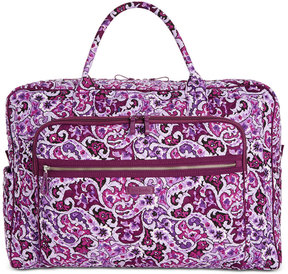 Vera Bradley Iconic Grand Extra-Large Weekender Bag - LILAC PAISLEY - STYLE
