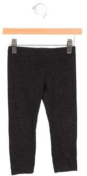 Armani Junior Girls' Stretch Knit Mid-Rise Leggings