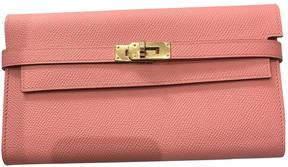 Hermes Kelly leather wallet - PINK - STYLE