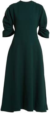 Emilia Wickstead Amelia wool-crepe midi dress