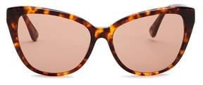 Joe's Jeans Women's 59mm Cat Eye Sunglasses