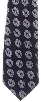 Turnbull & Asser Printed Silk Tie