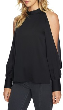 1 STATE Women's 1.state Cold Shoulder Top
