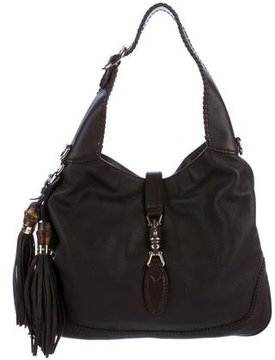 Gucci New Jackie Hobo - BROWN - STYLE