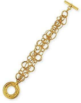 Jose & Maria Barrera 24K Gold-Plated Chain Bracelet