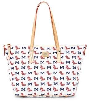 Dooney & Bourke Ole Miss Zip Top Shopper
