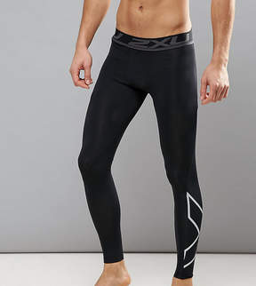 2XU TALL Accelerate Compression Tights In Black MA4476b