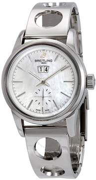 Breitling TransoceanAutomatic Mother of Pearl Dial Men's Watch IB011012/A693LBRCT