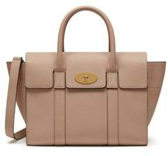 Mulberry Women's Beige Leather Handbag.
