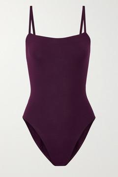 Eres Les Essentiels Aquarelle Swimsuit - Grape
