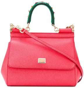 Dolce & Gabbana Sicily shoulder bag - RED - STYLE
