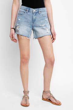 Blank Rip Off Denim Shorts