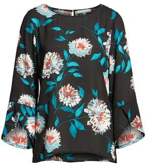 Chaus Tulip Sleeve Blossom Blouse