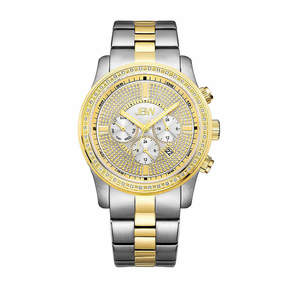 JBW Mens Two Tone Bracelet Watch-J6337a