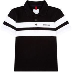 Givenchy Logo Stripe Polo Shirt