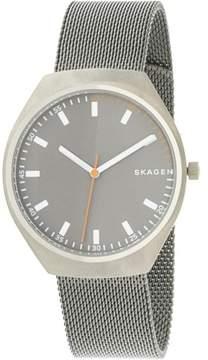 Skagen Men's Grenen SKW6387 Grey Stainless-Steel Japanese Quartz Fashion Watch
